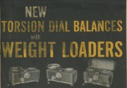 New Torsion Dial Balances With Weight Loaders