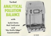 B-1334X Torbal Analytical Pollution Balance