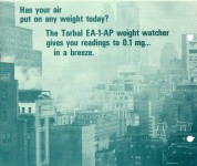 Attention salesmen-help facilitate the installation of torbal model EA-1 analytical balances